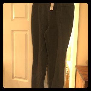 Size L NY&Co Black Print Pants (Tags On)